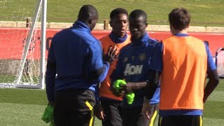 Manchester United Train Ahead Of Leeds Friendly In Perth - Man Utd Tour 2019