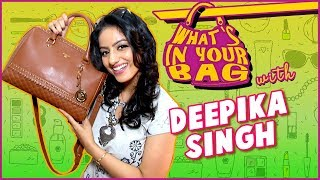 Deepika Singh Handbag Secret Revealed | What's In Your Bag | Diya Aur Baati Hum