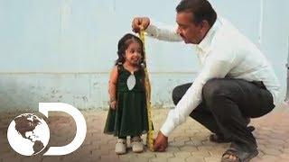 La mujer más pequeña del mundo  - Mi Cuerpo, Mi Desafío l Discovery Channel