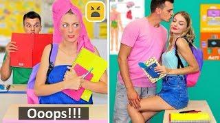 Oops..Back to School DIY Ideas: Girl Fashion Hacks