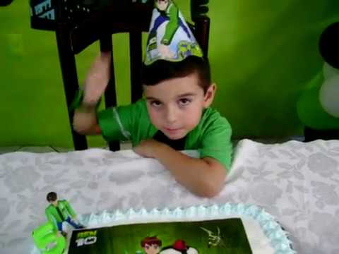 Aniversário 5 anos Pedro Henrique Gomes Levy