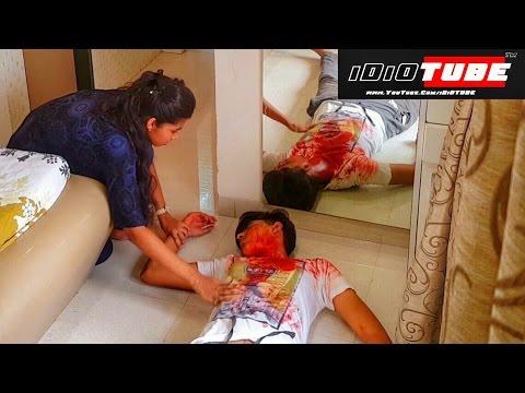 Murder Mystery Prank (Gone Wrong) - iDiOTUBE (Pranks In India)