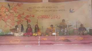 ফাগুন হাওয়ায় হাওয়ায় - সেঁজুতি, শর্মিলী, লামিয়া