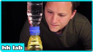 How to Make a Liquid Hourglass