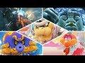 Super Mario Odyssey - All Bosses | No Damage! (Main Story)