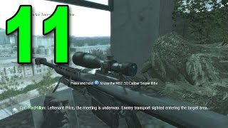 Call of Duty 4 - Part 11 - One Shot, One Kill (Let's Play / Walkthrough / Gameplay)