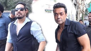 Race 3 Trailer - Bobby Deol and Mika Grand Entry - Race 3 Trailer Launch