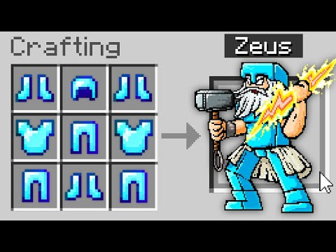 Minecraft But You Can Craft Gods