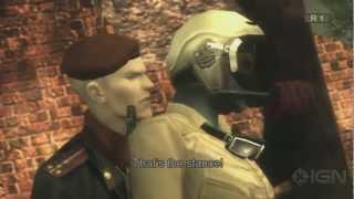 Metal Gear Solid 3 HD - Teasing Ocelot Cinematic - Gameplay