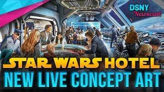STAR WARS HOTEL Live Concept Art Revealed for Walt Disney World - Disney News - 2/22/18