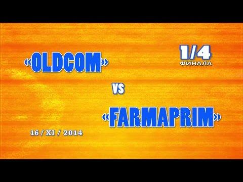 OLDCOM vs FARMAPRIM / 16 november 2014