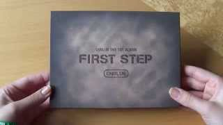 Unboxing CNBLUE 씨엔블루 1st Korean Studio Album First Step (Normal Edition)