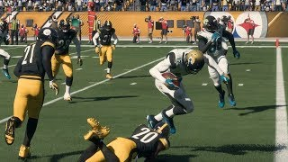 NFL 1/14 AFC Divisional Round Playoff - Jacksonville Jaguars vs Pittsburgh Steelers (Madden 18)