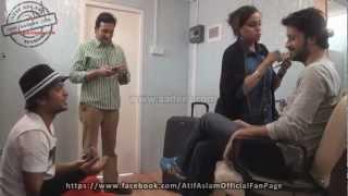 Behind The Scenes (SurKshetra) - Atif Aslam mentoring the contestants - JOSH Episode HD