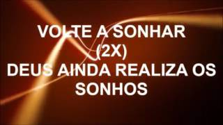 Volte a sonhar - Elaine Martins (playback legendado)