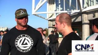 Dave Batista says Brock Lesnar is a Monster - Strikeforce MMA