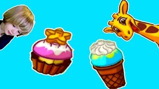 Lego Duplo ice Cream - Fun and Cute Cartoon game for little kids & Make your own play doh ice cream