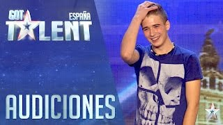 Draun nos demuestra que la magia existe   Audiciones 1   Got Talent España 2016