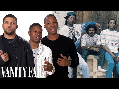 Becoming Dr Dre, Ice Cube, and Eazy-E in