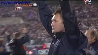 QWC 2010 Slovakia vs. Slovenia 0-2 (10.10.2009)