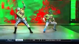The Lucha Dragons Vs. The Vaudevillains - WWE SmackDown - 07/04/2016