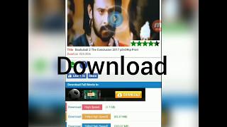 Easiest how to download bahubali2 HD. [Kaise Bahubali 2 download kar sakte he]
