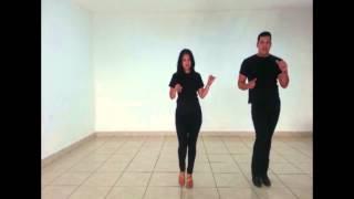Shine de Bachata - Pasos básicos de Bachata - Ivan y Tere Salsa