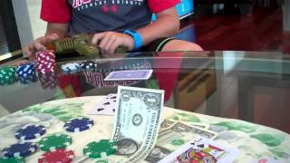 Kids Playing Poker - August 2015