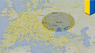 Malaysia flight MH17 crash: Asiana, Korea Air, Qantas have adjusted flight paths over Ukraine