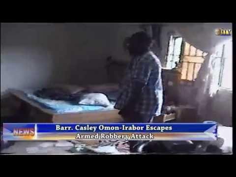 Omo-Irabor escapes armed robbery attack in Warri