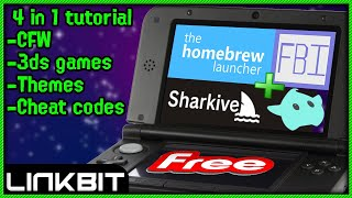 HOW TO FULLY MOD ANY 3DS 11.8 (FREE)