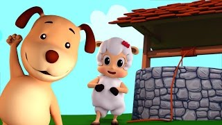 jack and jill | nursery rhymes | Farmees | 3d rhymes | kids songs | baby rhymes