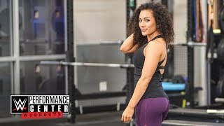 How to build a booty like Vanessa Borne: WWE Performance Center Workouts, April 26, 2018