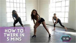 How To Twerk In 5 Minutes | Tone N Twerk Workout