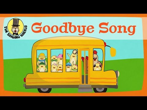 Xxx Mp4 Goodbye Song For Kids The Singing Walrus 3gp Sex