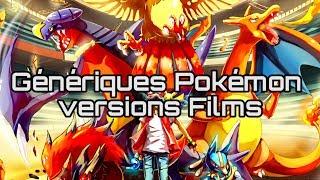 Génériques Pokémon versions longues / versions Films [Vidéo HD + Paroles]