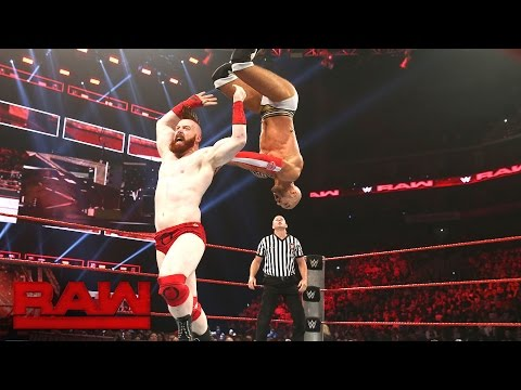 Cesaro vs. Sheamus - Best of Seven Series Match No. 3: Raw, Sept. 5, 2016 Highlights Cover