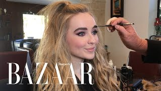 Sabrina Carpenter Shows Us How She Gets Ready for the American Music Awards | Harper's BAZAAR