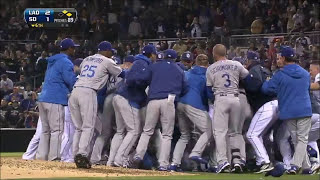 MLB | CHARGING THE MOUND! BRUTAL FIGHTS! | 1080p HD