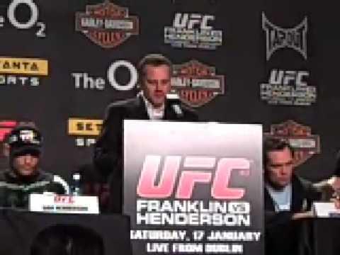 Mark Coleman Press Conference UFC 93