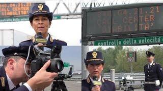 Polizia Stradale in azione: Tutor e autovelox, miti e leggende da sfatare