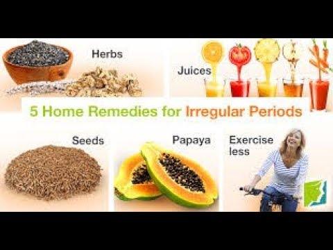 Home Remedies for Irregular Periods In Hindi - अनियमित मासिक धर्म के घरेलू उपचार