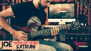 Made Of Tears Joe Satriani  Guitar Tutorial With Nicola Ancillotti