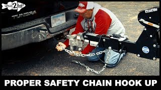 How to Hook Up Safety Chains: Trailering Know-How