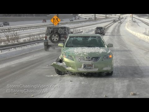 Minneapolis, MN Icy Roads And Crashes
