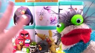 Angry Birds Movie Toy Surprise Blind Boxes - TNT Invasion Playset Mashems