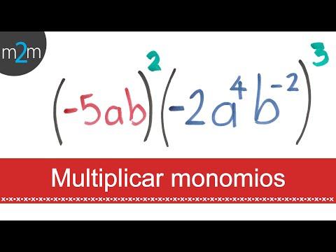 Multiplicación de polinomios │ ejercicio 2