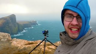 Landscape Photography on Location - Broken Camera and Extreme Weather in Scotland