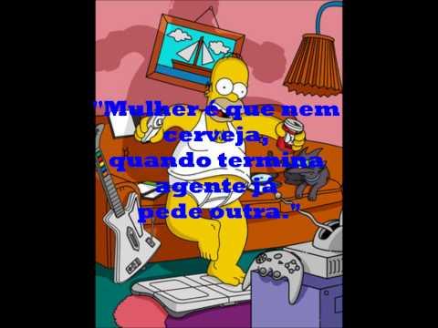 Homer Simpsons O mito das frases