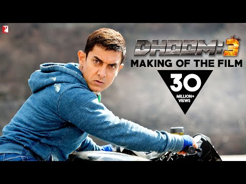 Making Of The Film - DHOOM:3 | Aamir Khan | Abhishek Bachchan | Katrina Kaif | Uday Chopra